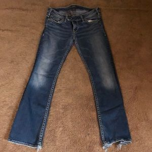 Silver Tuesday's jeans little worn